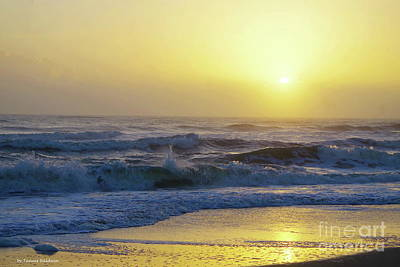 Photograph - Bright Sunrise Reflection by Tannis Baldwin