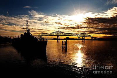 Cajun Photograph - Bright Time On The River by Scott Pellegrin