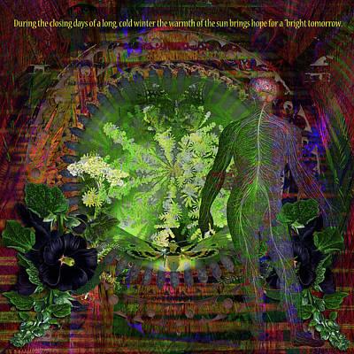 Digital Art - Bright Tomorrow by Joseph Mosley