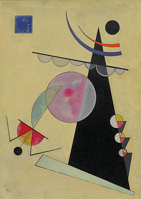 Triangle Painting - Bright Unity by Wassily Kandinsky