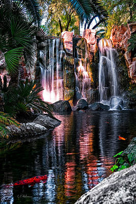 Photograph - Bright Waterfalls by Christopher Holmes