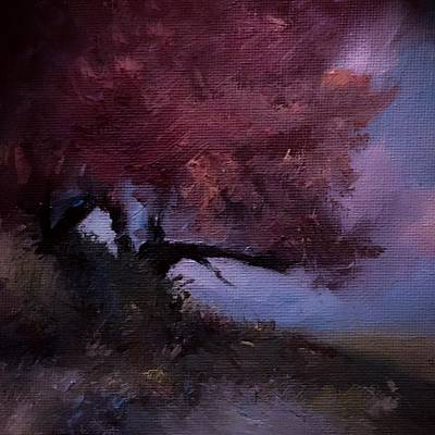 Painting - Brighten Up A Fading Year Landscape  by Michele Carter
