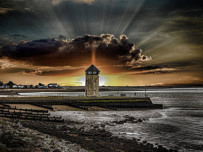 Brightlingsea Beach Art Print