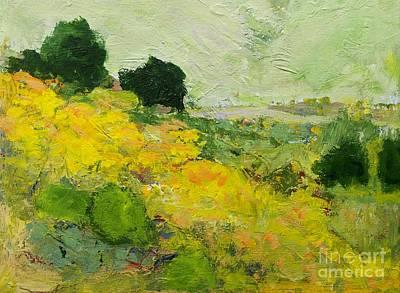 Landscapes Painting - Brighton by Allan P Friedlander