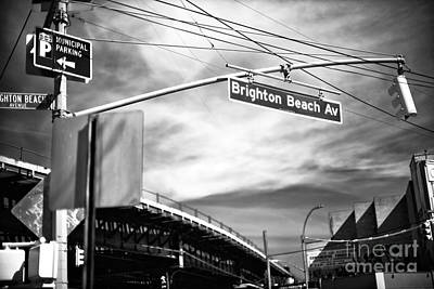 Photograph - Brighton Beach Avenue Clouds by John Rizzuto