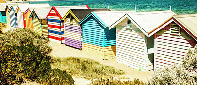 Photograph - Brighton Beach, Melbourne by Jorgo Photography - Wall Art Gallery