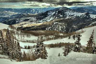Photograph - Brighton Mountain Landscape by Adam Jewell