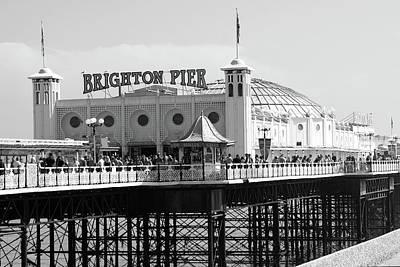 Photograph - Brighton Pier, England by Aidan Moran