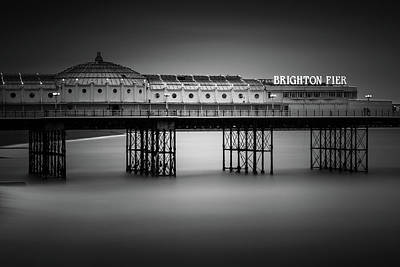 Piers Wall Art - Photograph - Brighton Pier, England by Ivo Kerssemakers