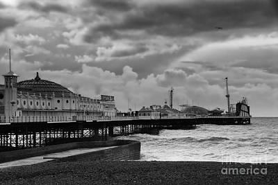 Brighton Photograph - Brighton Pier by Nichola Denny