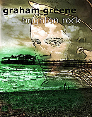 Latin Tapestry - Textile - Brighton Rock Poster  by Paul Sutcliffe