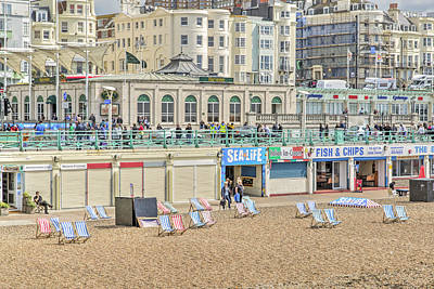 Photograph - Brighton Seaside  by Keith Armstrong