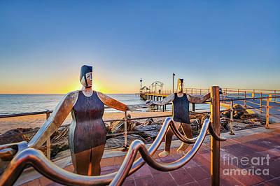 Photograph - Brighton Sunset IIi by Ray Warren