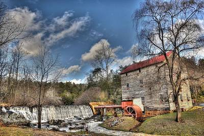Old Mills Photograph - Brightwell's Mill 1 by Todd Hostetter