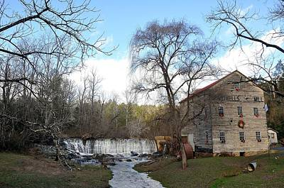 Old Mills Photograph - Brightwell's Mill 4 by Todd Hostetter
