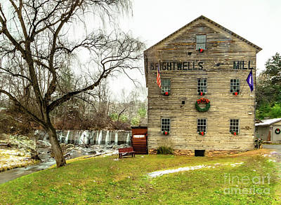 Studio Grafika Typography - Brightwells Mill Decked Out for Christmas by Norma Brandsberg