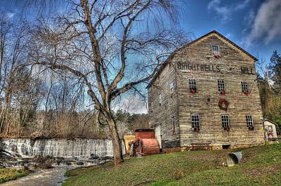 Old Mills Photograph - Brightwell's Mill by Todd Hostetter