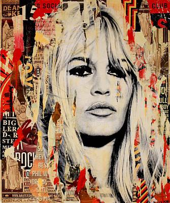 Brigitte Bardot Original by Michiel Folkers