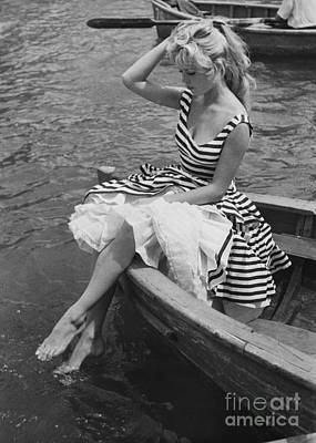Photograph - Brigitte Bardot by Rapho Agence