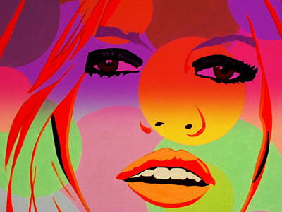 Funkpix Digital Art - Brigitte Bardot ... Young  by Funkpix Photo Hunter
