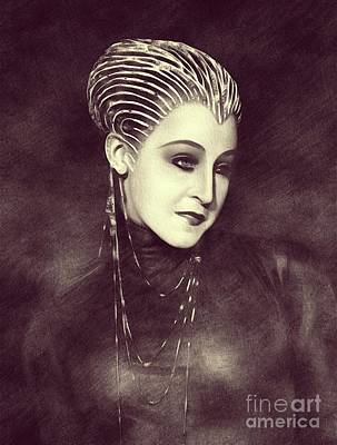Musician Royalty-Free and Rights-Managed Images - Brigitte Helm - Metropolis by John Springfield