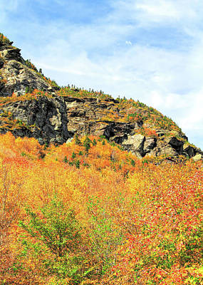 Photograph - Brilliant Autumn Colors At Smugglers Notch by Dan Sproul