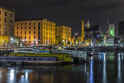 Albert Dock Photograph - Brilliant Boats And Buildings by Paul Madden