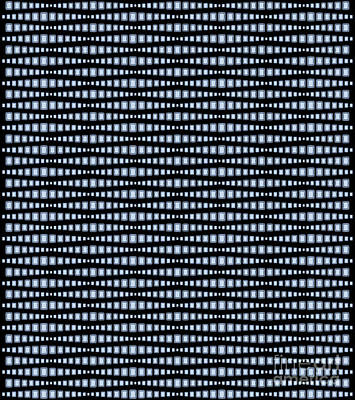 Digital Art - Brilliant Diamond Pattern by Heather Schaefer