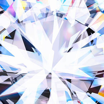 Brilliant Diamond  Art Print by Setsiri Silapasuwanchai