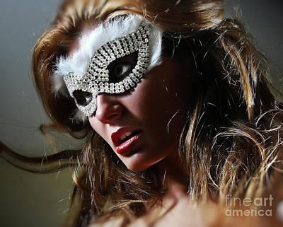 Photograph - Brilliant II Venetian Eye Mask by Dimitar Hristov
