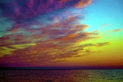 Michigan Port Sanilac Photograph - Brilliant Sunrise by Jappie Photography