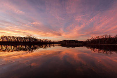 Photograph - Brilliant Sunset by Scott Bean