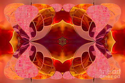 Digital Art - Brilliant Surprises Abstract Art By Omashte by Omaste Witkowski
