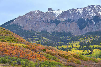Photograph - Brilliantly Colored Hillsides Along Last Dollar Road by Ray Mathis
