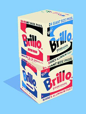 Photograph - Brillo Pads 1 by Dominic Piperata