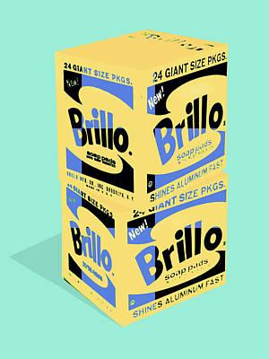 Photograph - Brillo Pads 2 by Dominic Piperata