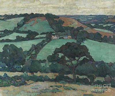 Painting - Brimley Hill, Devon by Robert Polhill Bevan