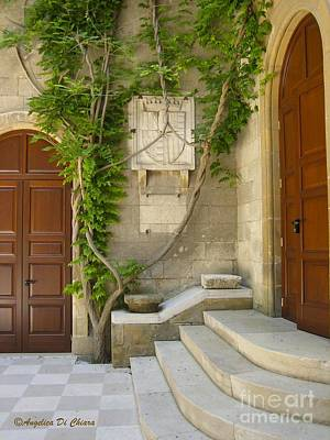 Photograph - Brindisi- Library Door by Italian Art