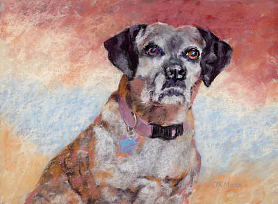 Pastel - Brindle by Julie Maas