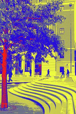 Digital Art - Brindley Place by Mary Castellan