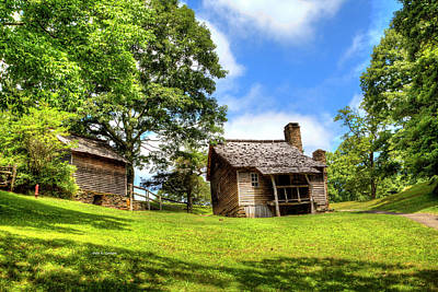Photograph - Brinegar Cabin by Dale R Carlson