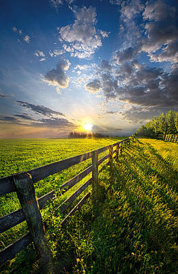 Photograph - Bring Heaven Near by Phil Koch