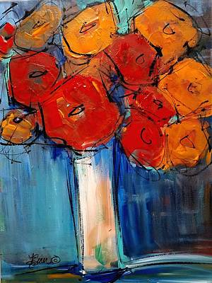 Painting - Bring Me Flowers by Terri Einer