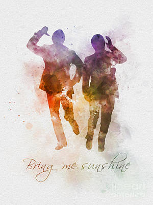 Dance Mixed Media - Bring Me Sunshine by Rebecca Jenkins