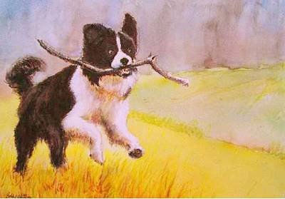 Painting - Bring Me The Stick by Bobby Walters