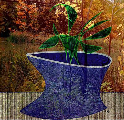 Digital Art - Bring Nature Home by Iris Gelbart
