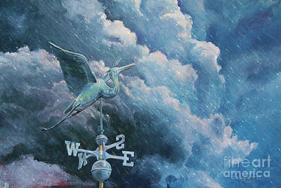 Painting - Bringing The Storm Rain by Rob Corsetti