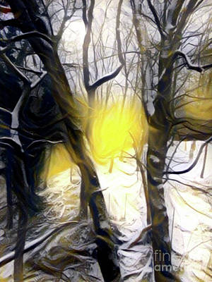 Mixed Media - Brink Of Sun by Gayle Price Thomas