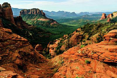 Cathedral Rock Photograph - Brins Mesa 07-138 by Scott McAllister