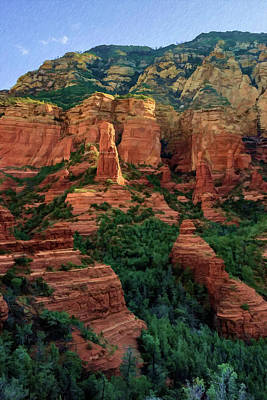 Photograph - Brins Mesa 07-185 by Scott McAllister